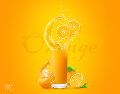 Photoshop Orange Juice manipulation