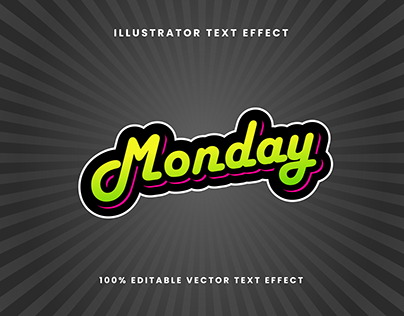 Graffiti Style Vector Text Effect | Free Download