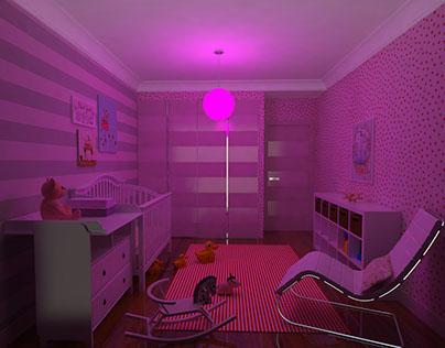 Baby Room Night