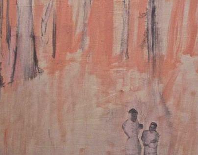 Several paintings