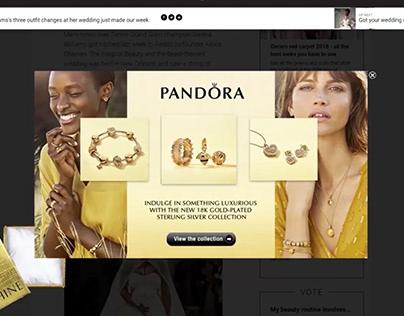 W24 - Pandora - Interstitial ad