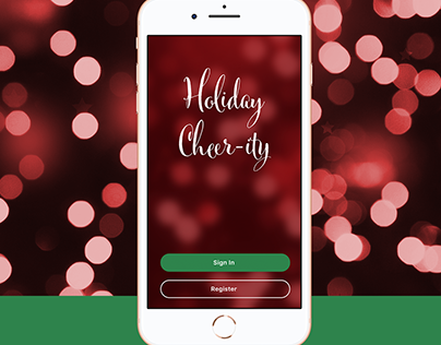 Holiday Cheer-ity: Adobe XD Concept & Tutorial