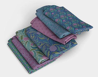 Flores de Selva pattern collection