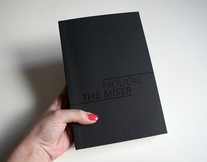 concept of the script for Moliére's play The Miser