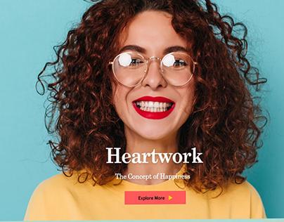 Heartwork Website - UI/UX