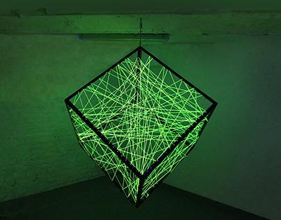 Un mètre cube de communication, 2017, Paris