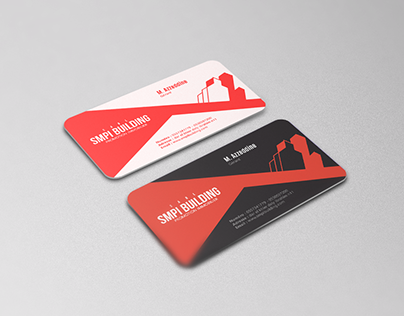 Red Business Card