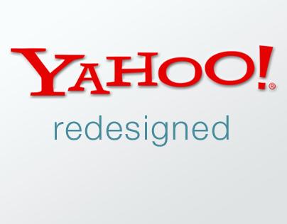 Yahoo! Redesign