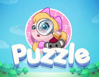 Game UX-UI Puzzle Game