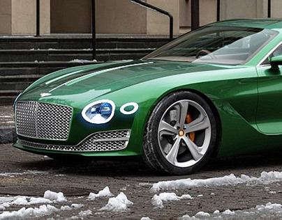 Bentley EXP 10 Speed 6 / 3D Renders