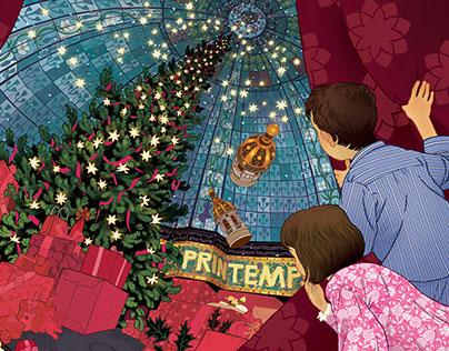 Printemps, Christmas '17 - Key Visual & Animation