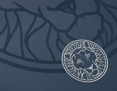 Family crest LION