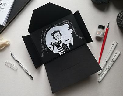 VINCENT illustrated poem by Tim Burton