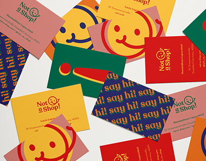 Not-a-Shop! Logo + Identity Design