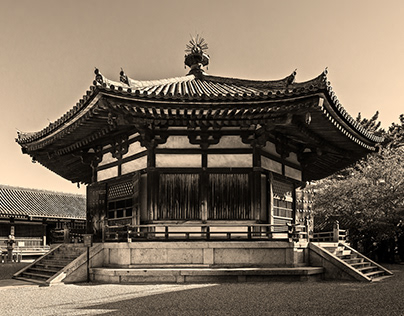 HORYUJI / Oldest Wooden Architecture