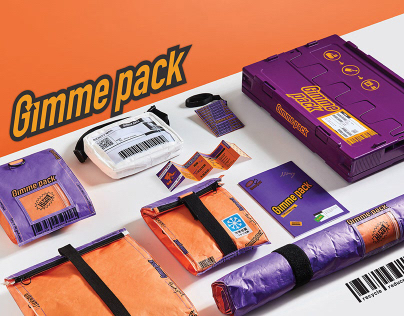 Gimme Pack delivery packaging reuse plan