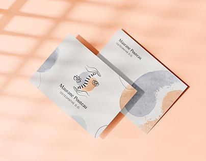 Maurane Pouteau Ostéopathe D.O. • Branding
