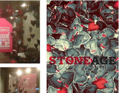 Stoneage Valentine Installation