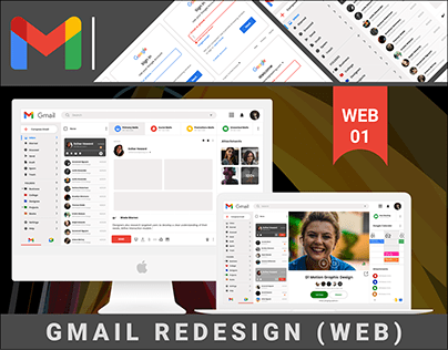 GMAIL(WEB) - REDESIGN CONCEPT