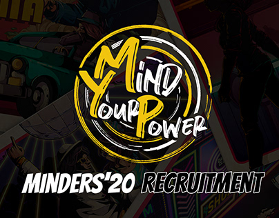 Minders'20 Mind Your Power || Social Media Designs