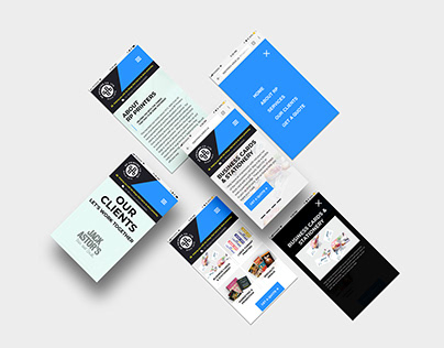 RP Printers Responsive Web Design + Development