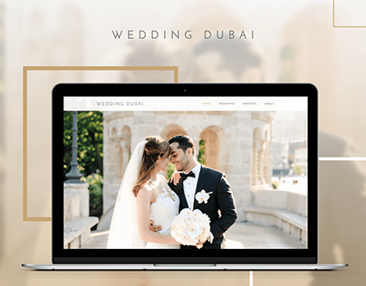 Website for Wedding Agency, Web design