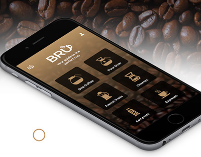BRU - App for making coffee
