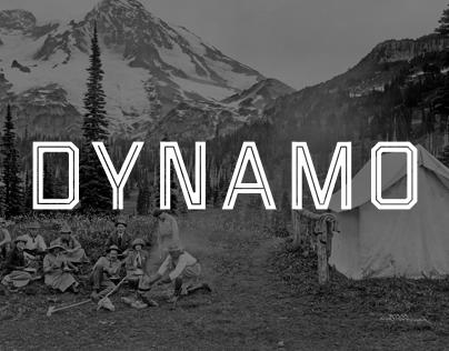 Dynamo Typeface - Typography