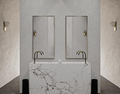 Studio Edna CG - Interior Design - Bathroom 1