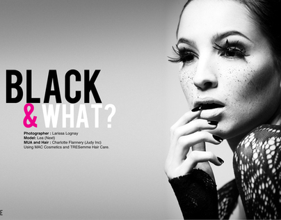 Black and What ?