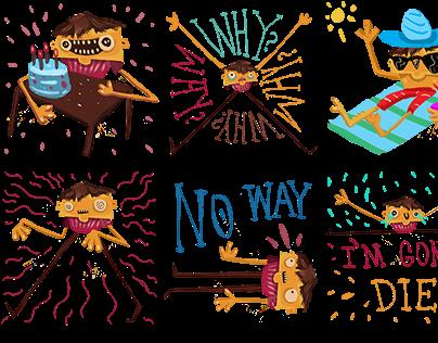 Tifi Sticker Set