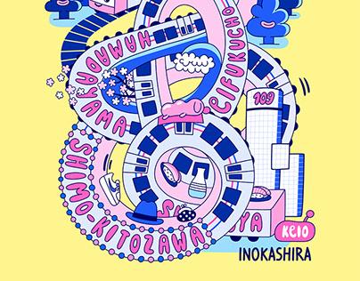 Keio Inokashira line