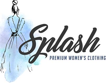 Clothing boutique logo design
