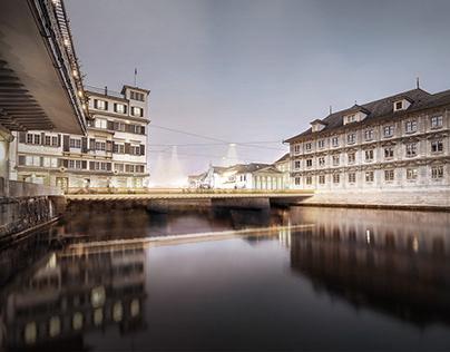 Rathausbrücke | Zürich | CH