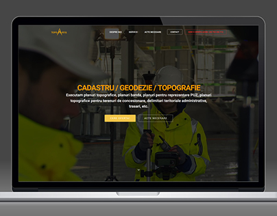 TOPOARTIS.RO - WEBSITE DESIGN