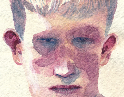 Watercolour portrait series 1
