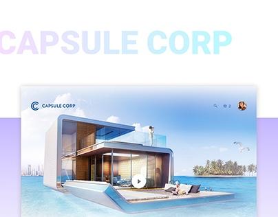 Capsule Corp - e-commerce
