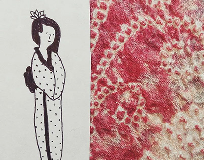 Haoru by KUDEN | Série d'illustrations