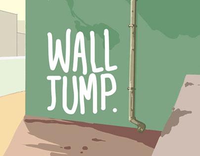wall jump animation