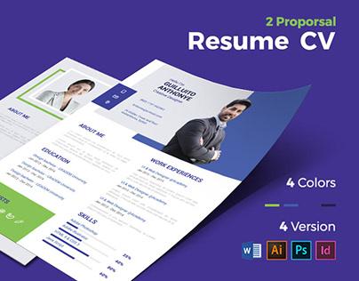 Free Corporate Resume / CV
