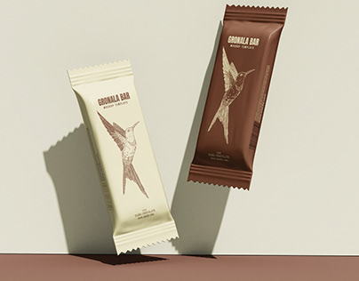 Chocolate Bar Packaging Mockup Download