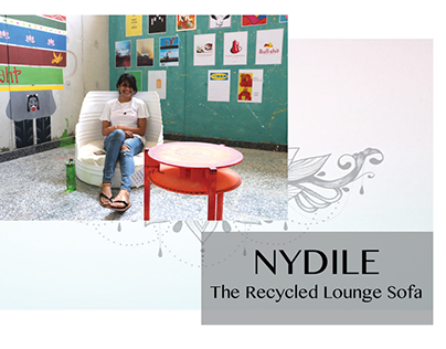 Nydile - Recycled Lounge Sofa