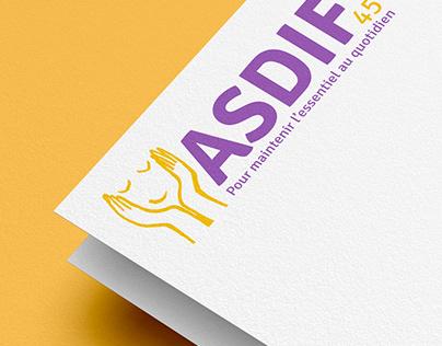 asdif45 logo identite visuelle