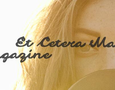 Et Cetera Magazine