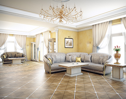Private residence classic interiors