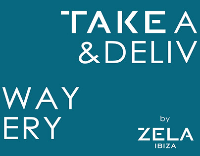 Take Away and Delivery by ZELA IBIZA
