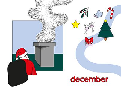 December — Illustration