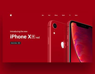 iPhone XR UI Concept