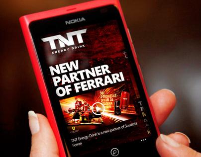 TNT Energy Drink - App for Windows Phone