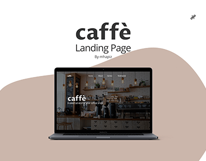 caffè Landing Page